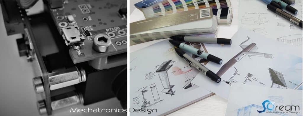 design mécatronique SOREAM