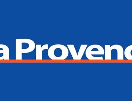 Le journal La Provence parle de SOREAM